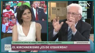 """Jorge Altamira: """"El peronismo puede ser perfectamente neoliberal cuando es necesario"""""""