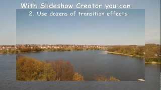 Bolide Slideshow Creator - an easy way to create video slideshow