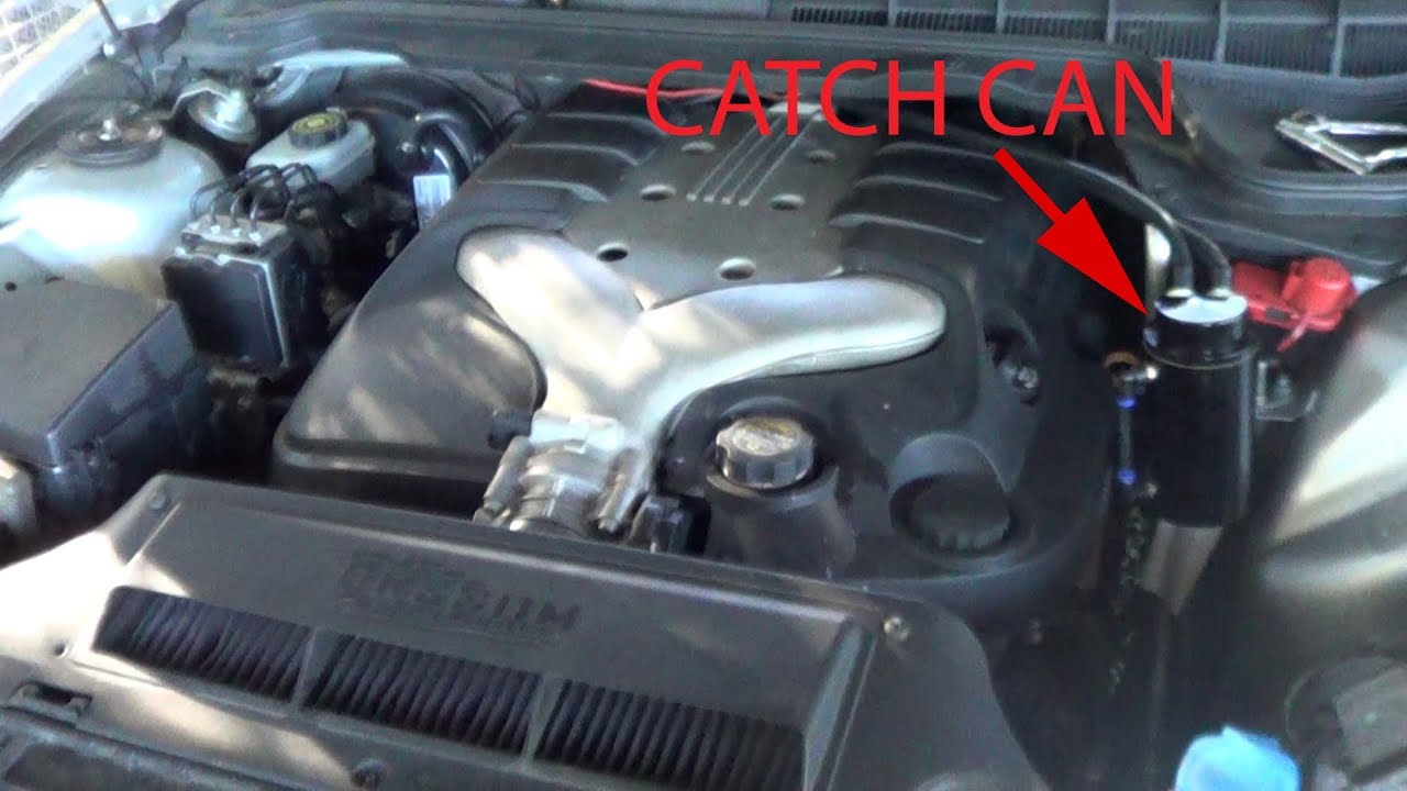 VE Commodore Oil Catch Can Install