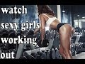 Fitness for girls doing work out
