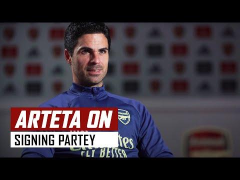Mikel Arteta on signing Thomas Partey