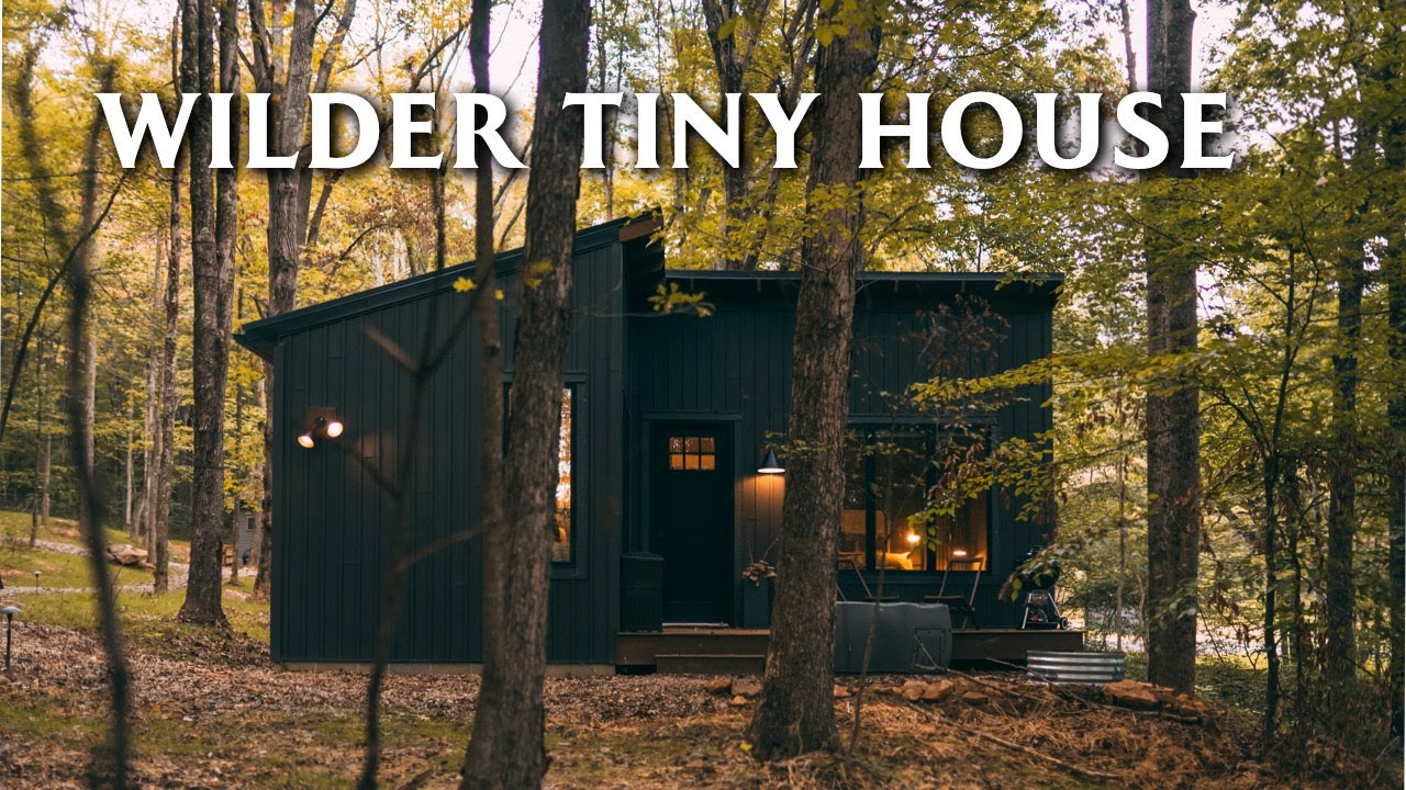 Download Spacious 450sqft Tiny House Tour // Wilder Tiny House Airbnb