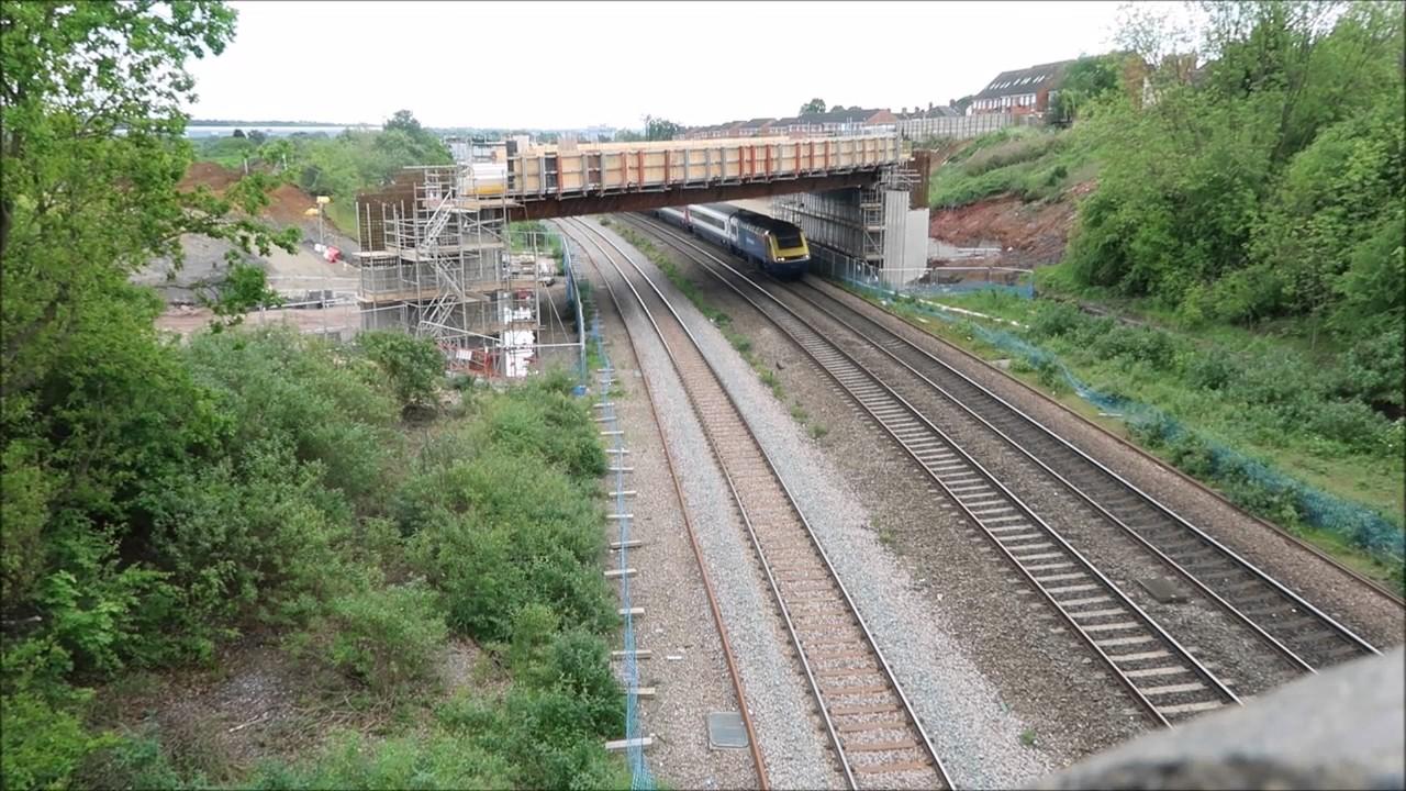 Wellingborough Railway Stanton Cross 21 05 2007 Youtube