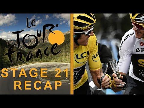 Tour de France 2018: Stage 21 Recap I NBC Sports
