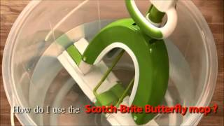 Scotch-Brite Butterfly Mop -- Superior Butterfly Squeezing Mechanism