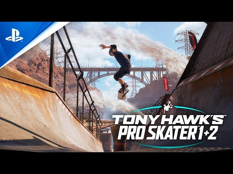 Tony Hawk's Pro Skater 1 and 2 - Launch Trailer | PS4
