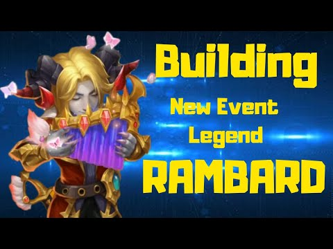 Rambard | Building The NEW NEW | Best Build? | Castle Clash