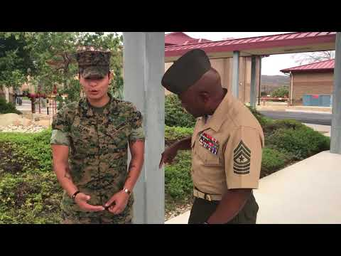 She Motivated The Motivator: Semper Fi Sgt Lozano!