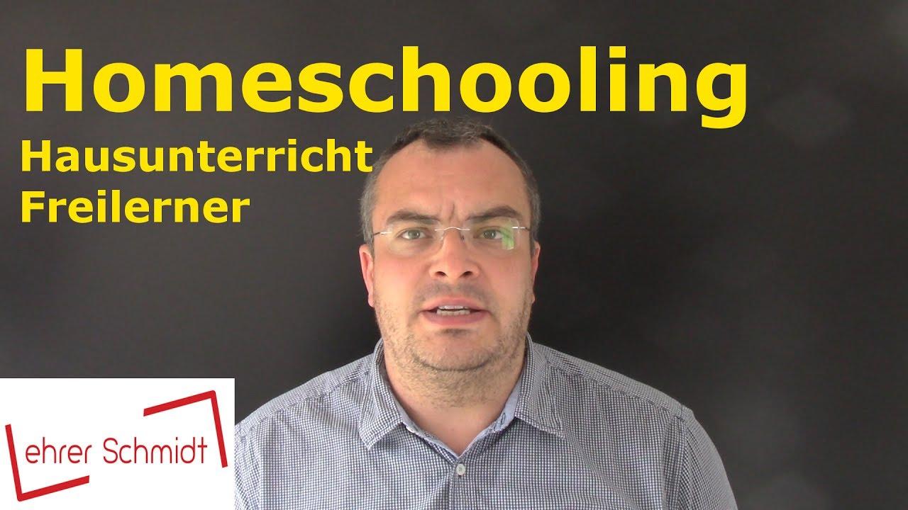 Homeschooling - Hausunterricht - Freilerner | Was ist das ...