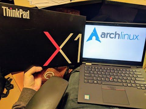 Install Arch Linux on ThinkPad X1 Yoga (3rd generation)