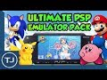 The Ultimate PSP/PSP GO Emulator Pack With Roms! (DOWNLOAD) 2017!