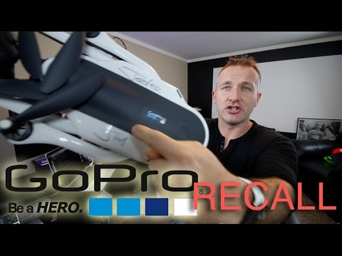 RECALL on GoPro Karma after 'lost power during operation'