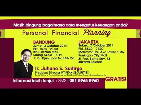 Personal Financial Planning (Mitra CBN Fellowship Jakarta & Bandung)