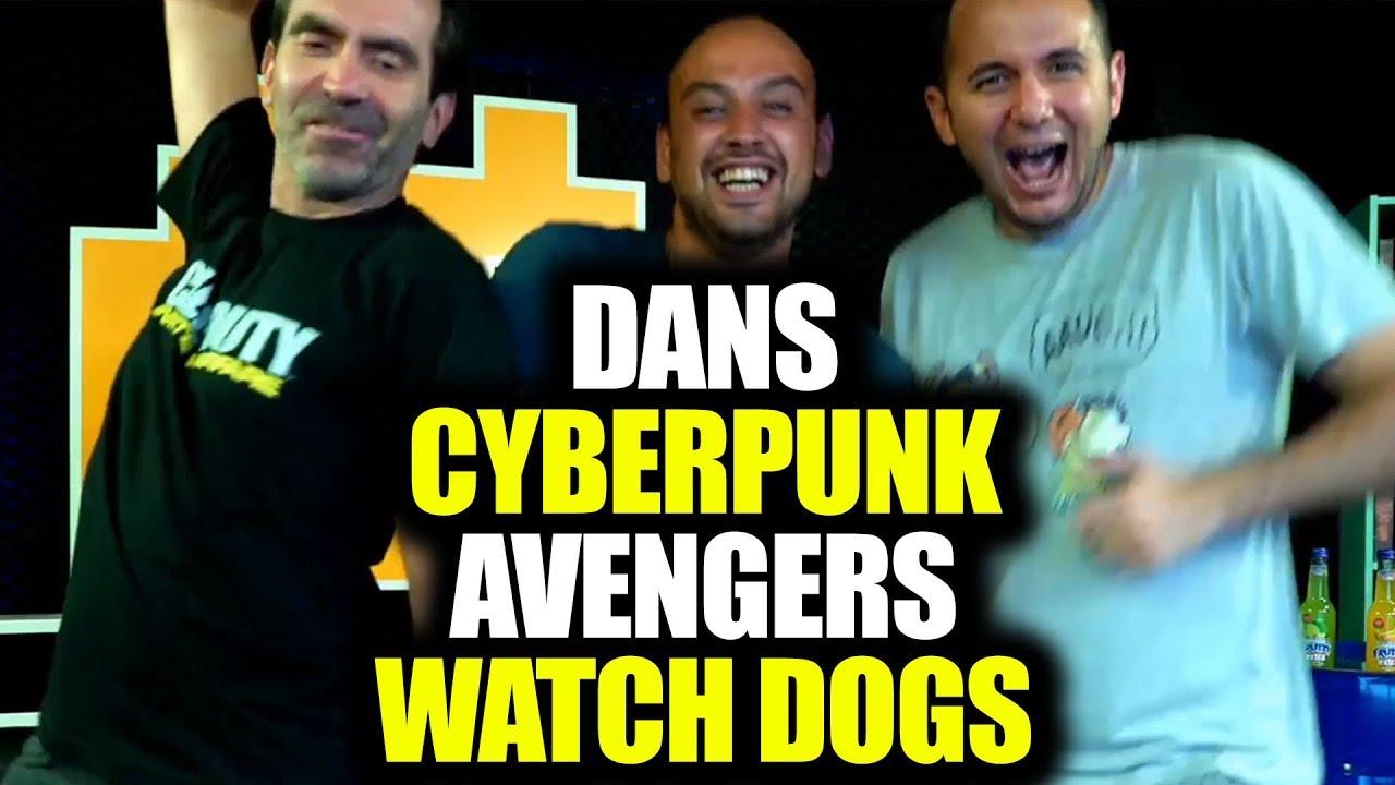 DANS, CYBERPUNK, AVENGERS, WATCH DOGS (E3 2019 YAYIN ANLARI)