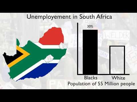 South Africa Unemployment montage