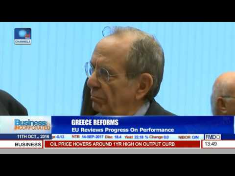 Business Incorporated: EU Reviews Progress On Performance On Greece Reforms