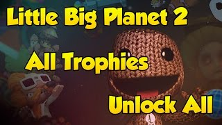 [Little Big Planet 2] Unlock Everything + All Trophies