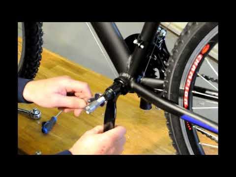 Fitting an Electric Bike Conversions Rear Wheel Conversion