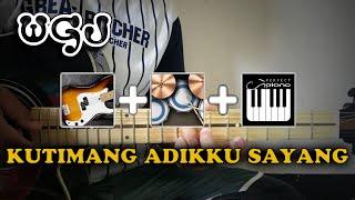 Ipank - Kutimang Adikku Sayang | Wahyu Gayajari (Guitar, Real Bass, Real Drum, Perfect Piano) cover