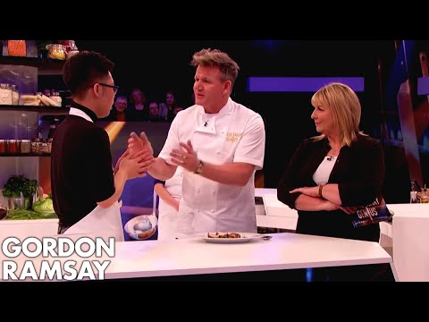 Gordon Ramsay is Served RAW Chicken by Nervous Amateur Chef!