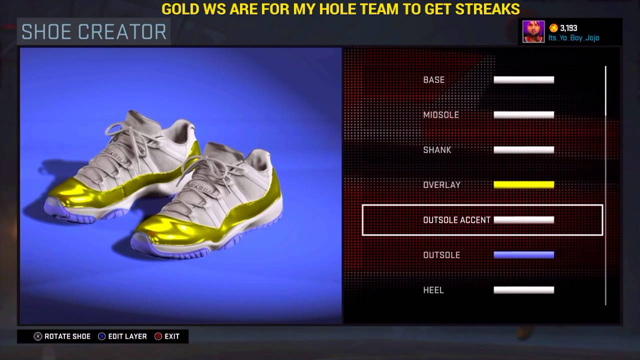 ae61c338b86 NBA 2K16|CREATED A SHOE COLLECTION| ITS LIT - YouTube