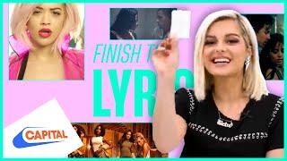 Bebe Rexha Covers Rita Ora, Nick Jonas & More | Finish The Lyric | Capital