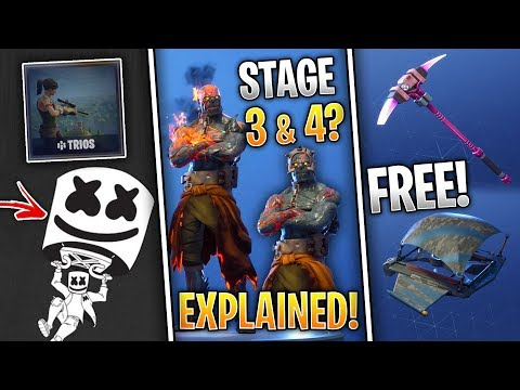 Fortnite News | NEW Founders Items, Snowfall Skin Stages, Marshmello Glider & More!