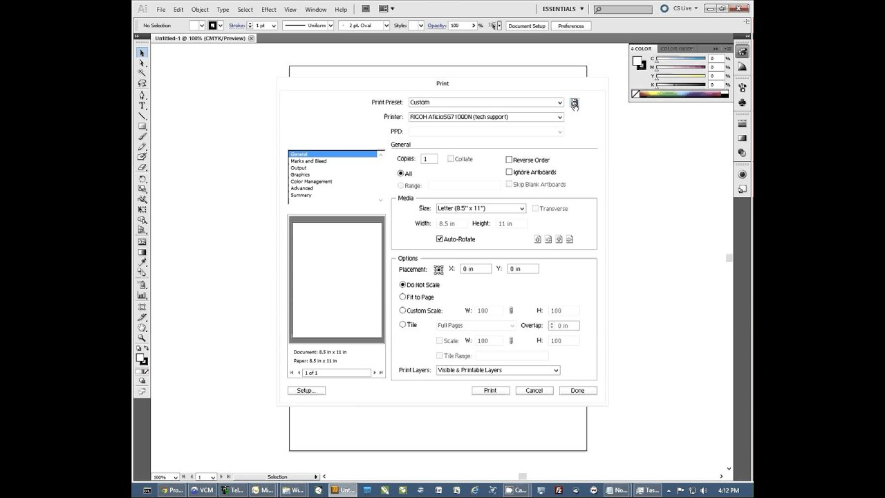 How to Configure Adobe Illustrator for Sublimation Imprinting -