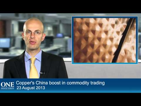 Copper's China boost in commodity trading