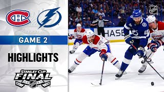 Cup Final, Gm 2: Canadiens @ Lightning 6/30/21