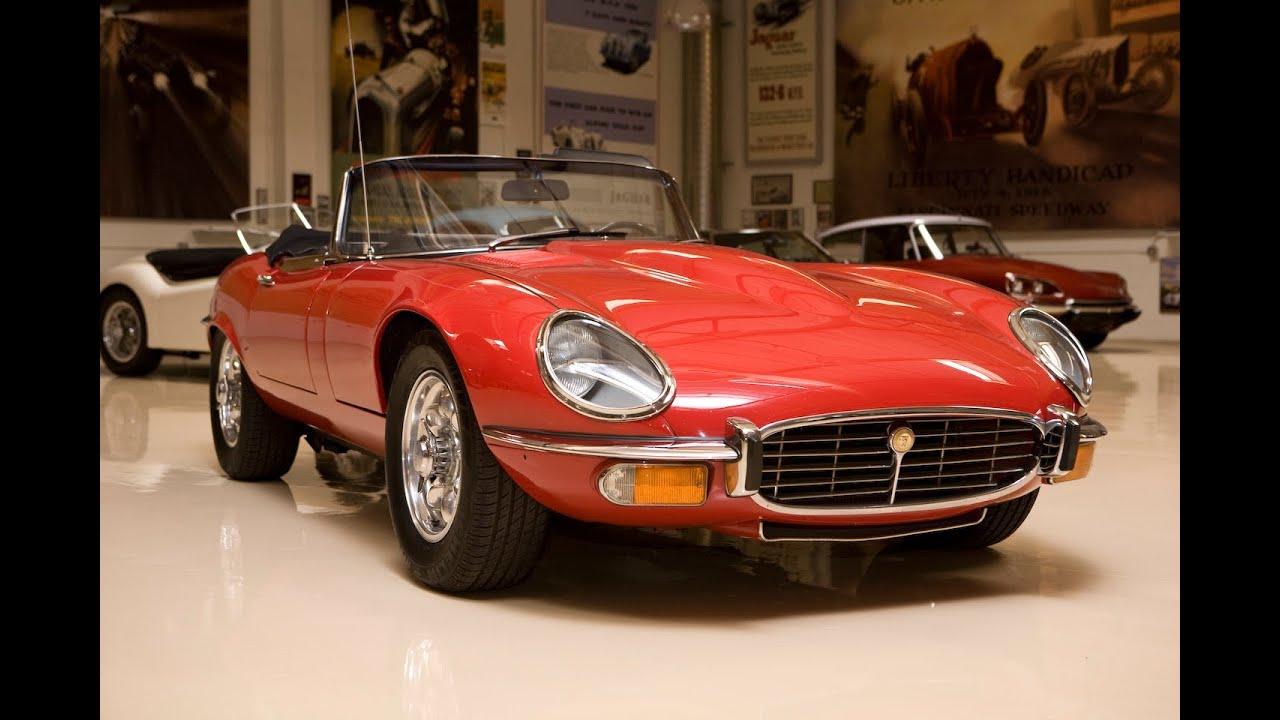 Jaguar xk e jay leno 39 s garage youtube for Garage jaguar lille