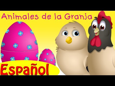 ChuChu TV Huevos Sorpresas   Animales de la Granja   Bebés de Animales & Sonidos de Animales