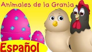 chuchu tv huevos sorpresas   animales de la granja   bebs de animales sonidos de animales