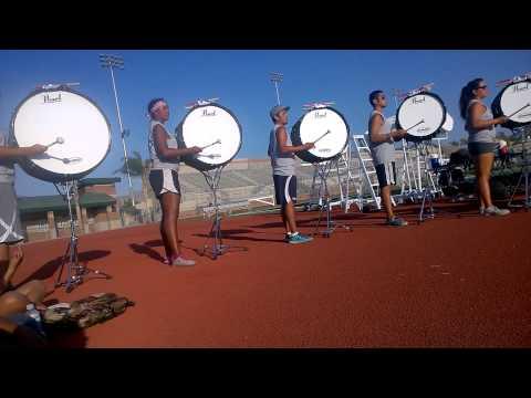 Blue Devils Triplet Partial - Bass Drums