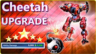 Mech Arena 🤩 Cheetah Rank Upgrade 💣 Bomb Blaster
