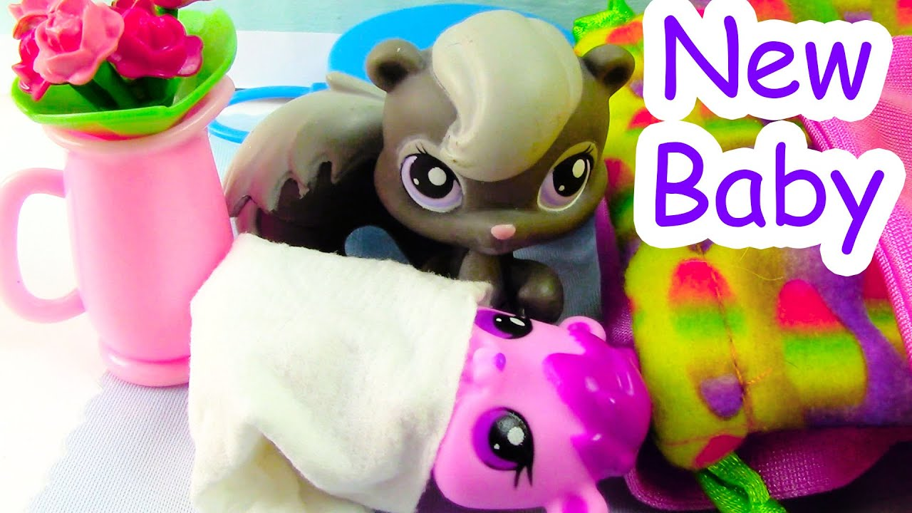 Baby Dolls Episode New Baby Mommies Part 24 Littlest Pet Shop Series Movie