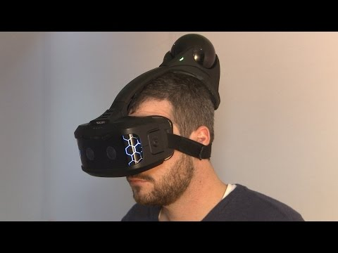 Hands-On With a Totally Wireless VR Headset - CES 2015