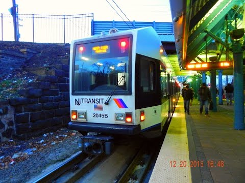 🚊/💺  New Jersey Transit: Hudson-Bergen Light Rail to Tonnelle Avenue - North Bergen... FULL RIDE!