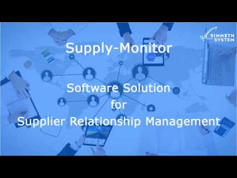 Software for Supplier Relationship Management