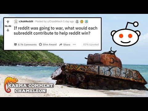 Its REDDIT WAR! What Does Each Subreddit Contribute? | R/AskReddit | #022