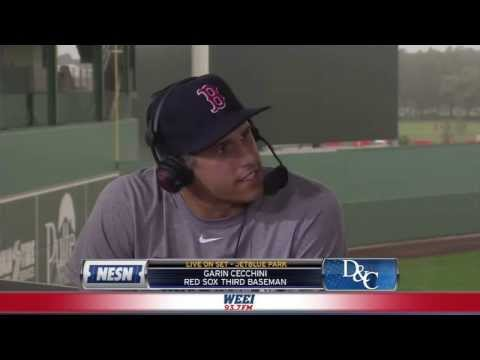 Dennis & Callahan talk with Red Sox prospect Garin Cecchini