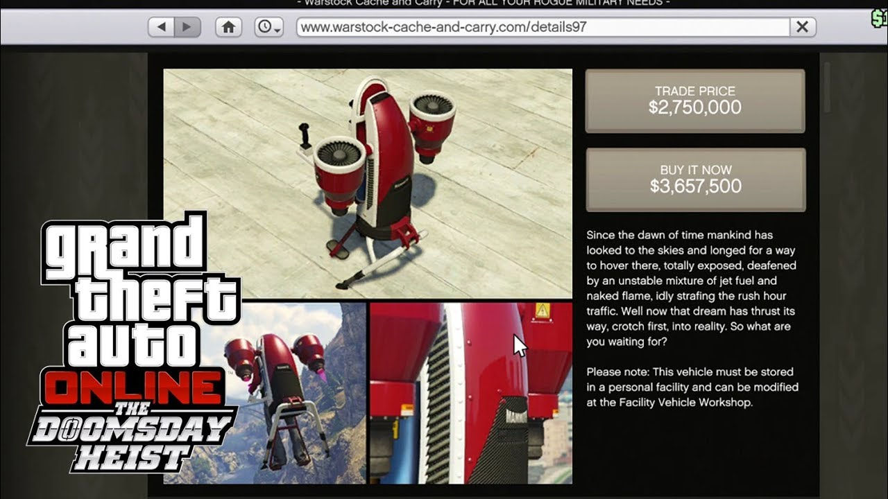 gta online the doomsday heist update vehicles facilities prices youtube. Black Bedroom Furniture Sets. Home Design Ideas
