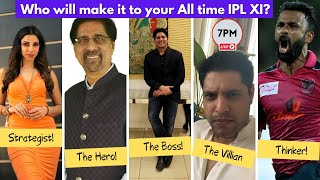 All Time IPL XI Draft | Cheeky Cheeka Live | IPL 2020