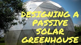 Review of a New Passive Solar Greenhouse Design