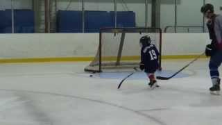 Gavin Hockey Lesson With Matt Summers