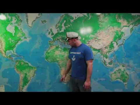 Alex Rust Maps his Trip Around the World