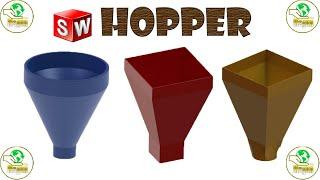 HOPPER SOLID WORKS 2020