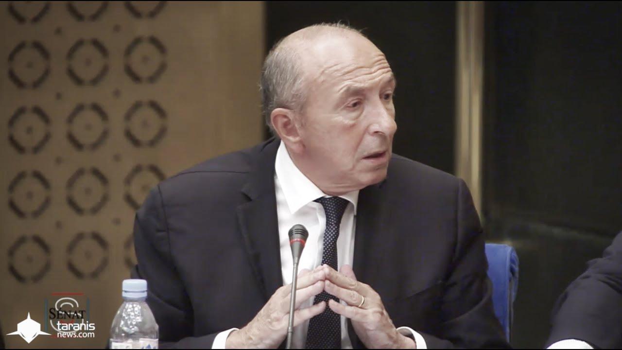 audition grard collomb ministre interieur la commission denqute sur laffaire benalla senat