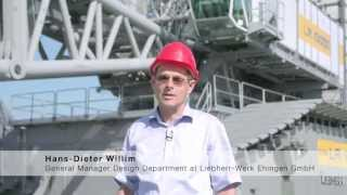 Liebherr - LR 13000: Tallest crawler crane in the world