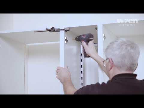 Wren Kitchens Infinity: Fridge Freezer Installation